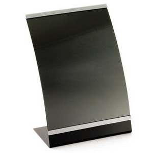 "TableCraft AS811 Acrylic Curved Menu Holder, 8-1/2"" x 11"""