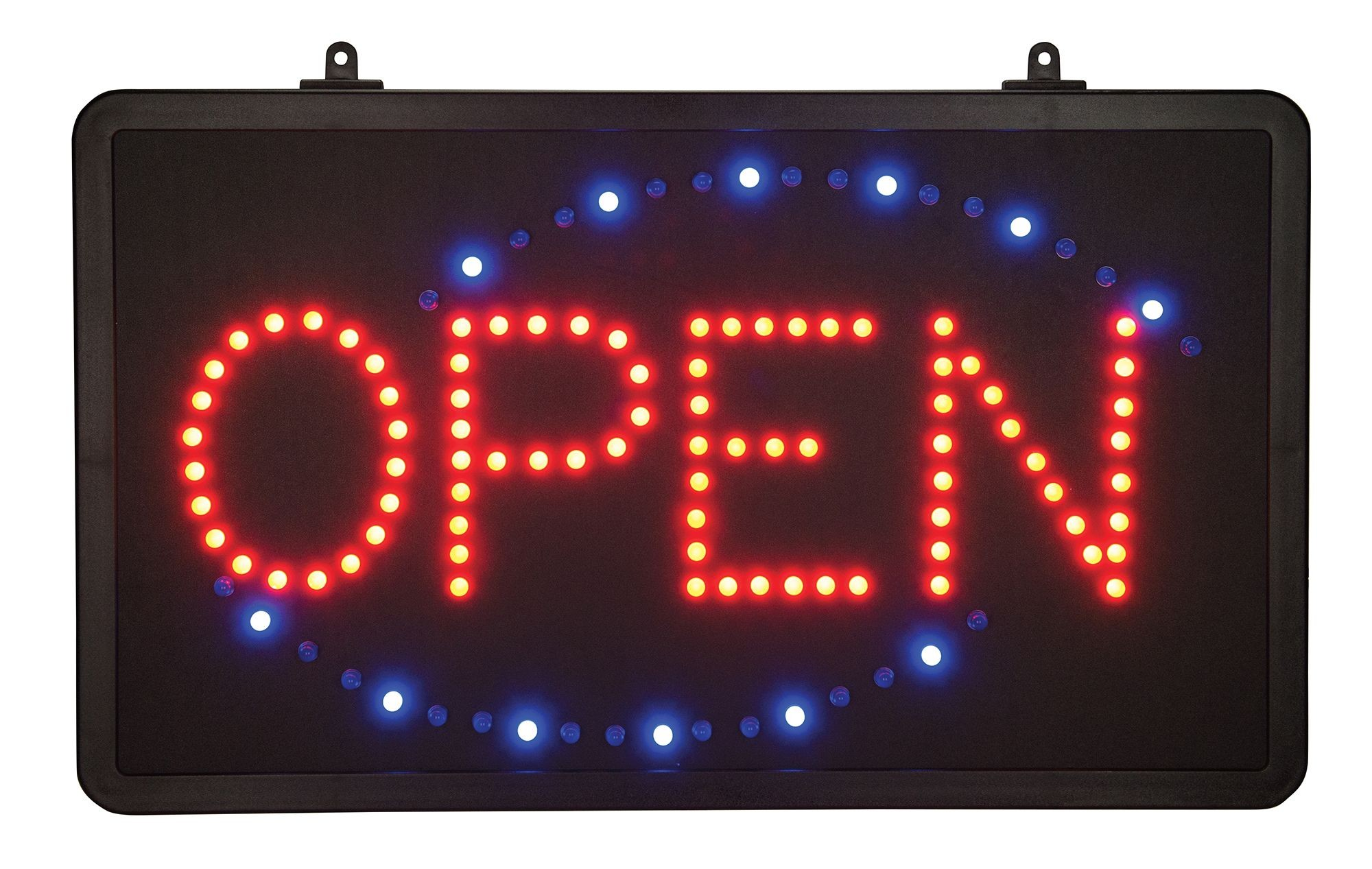 Winco LED-6 Open LED Sign with Single Flashing Pattern