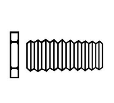 Adaptor, Inlet (1/2Nps M X2 )