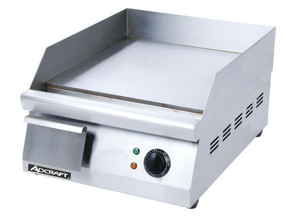"Adcraft GRID-16 Stainless Steel Electric 16"" Griddle"