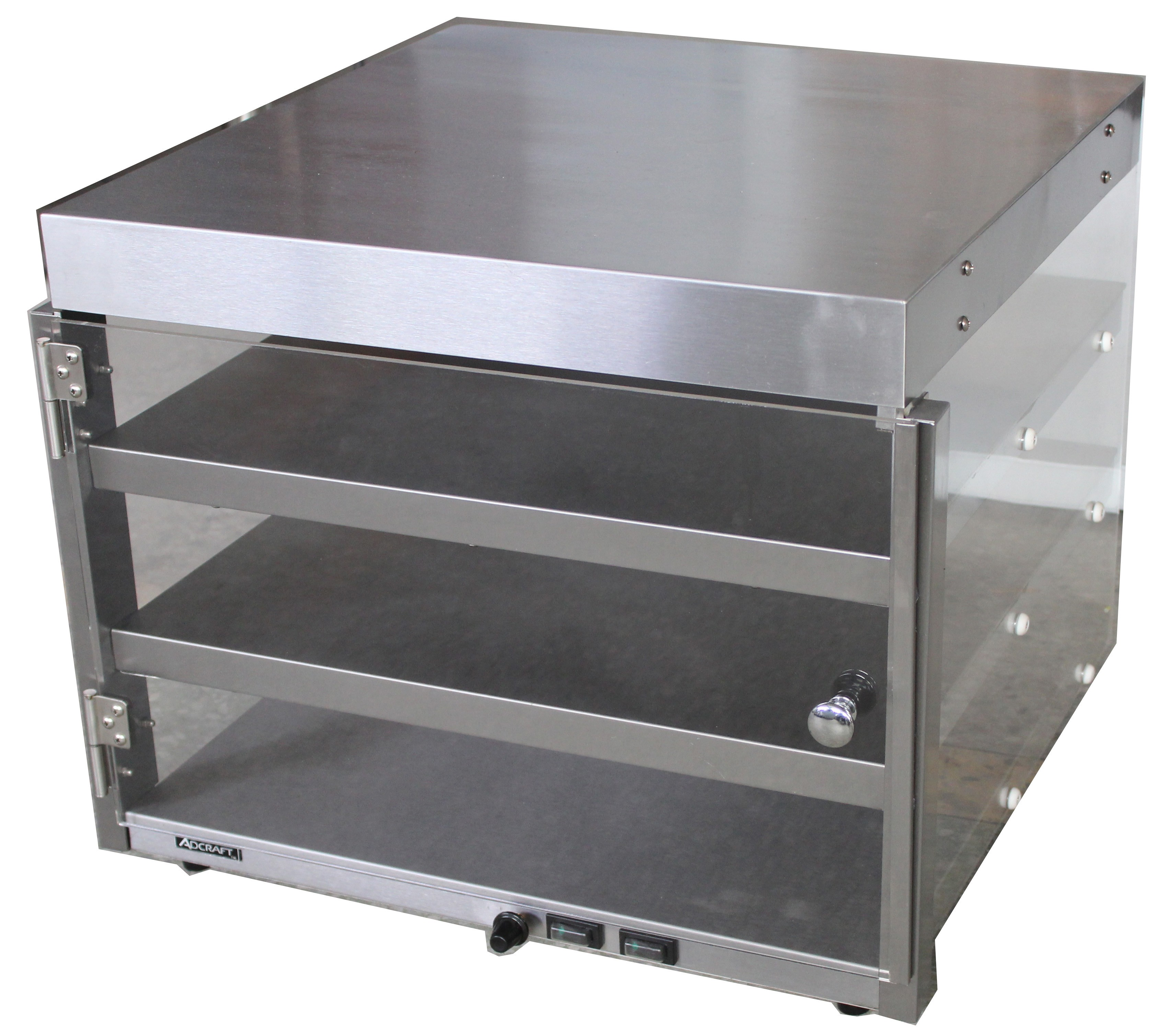 "Adcraft PW-16 Countertop Pizza Merchandiser for 16"" Pizzas"
