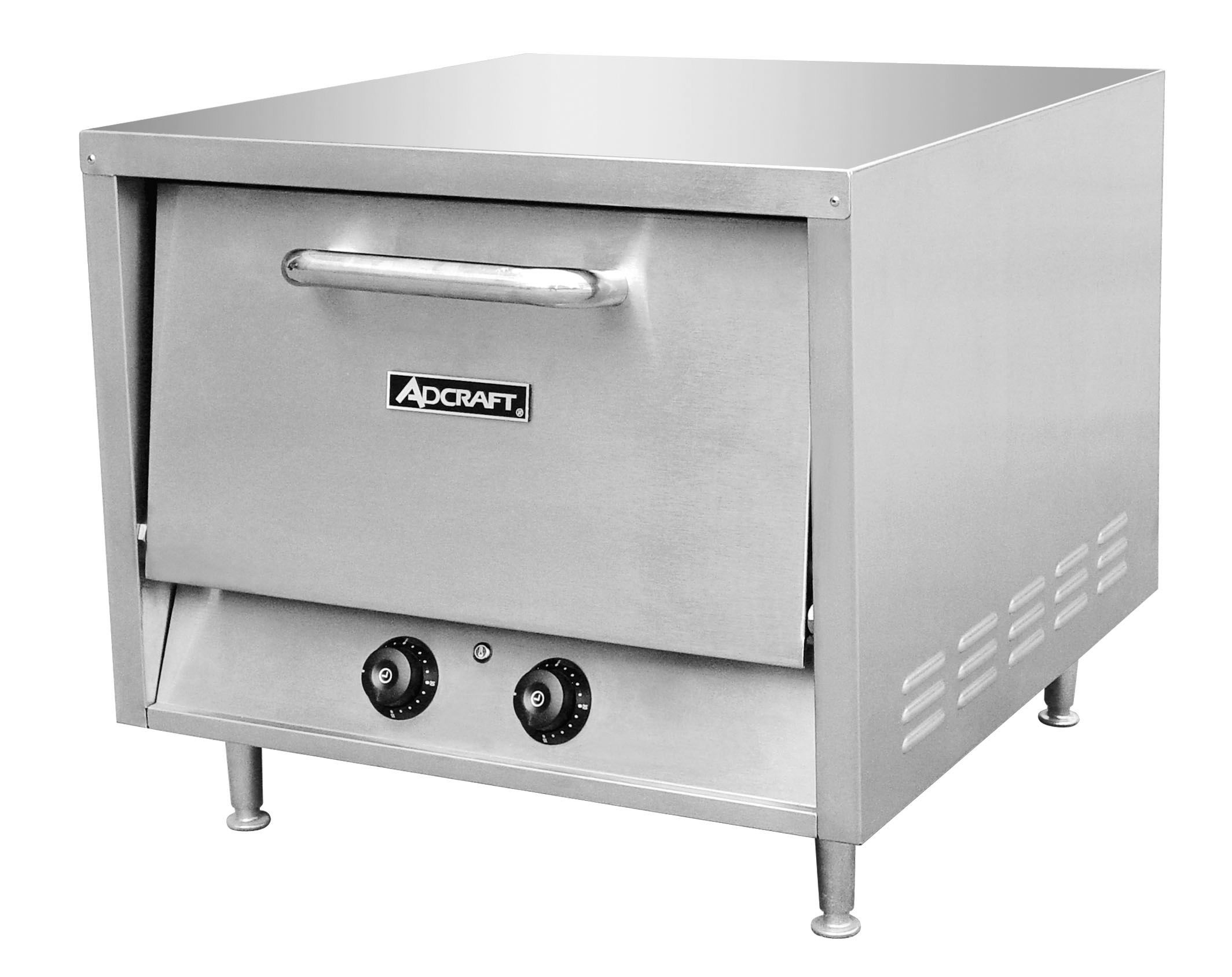 """Adcraft PO-18 Countertop Stackable Pizza Oven 18"""""""