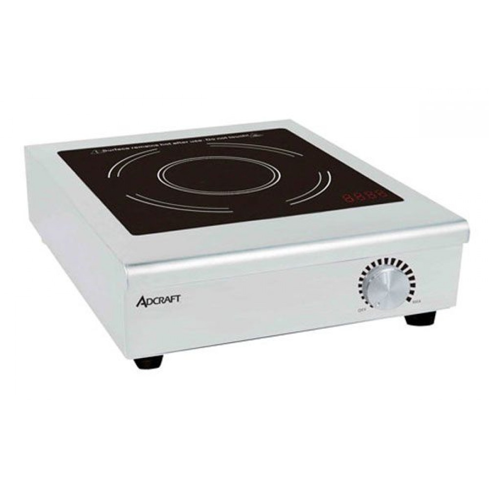 Countertop Induction Cooktop : Adcraft IND-C208V Countertop Commercial Induction Cooktop, 208V ...