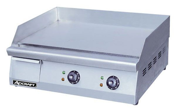 "Adcraft GRID-24 Stainless Steel Electric 24"" Griddle"
