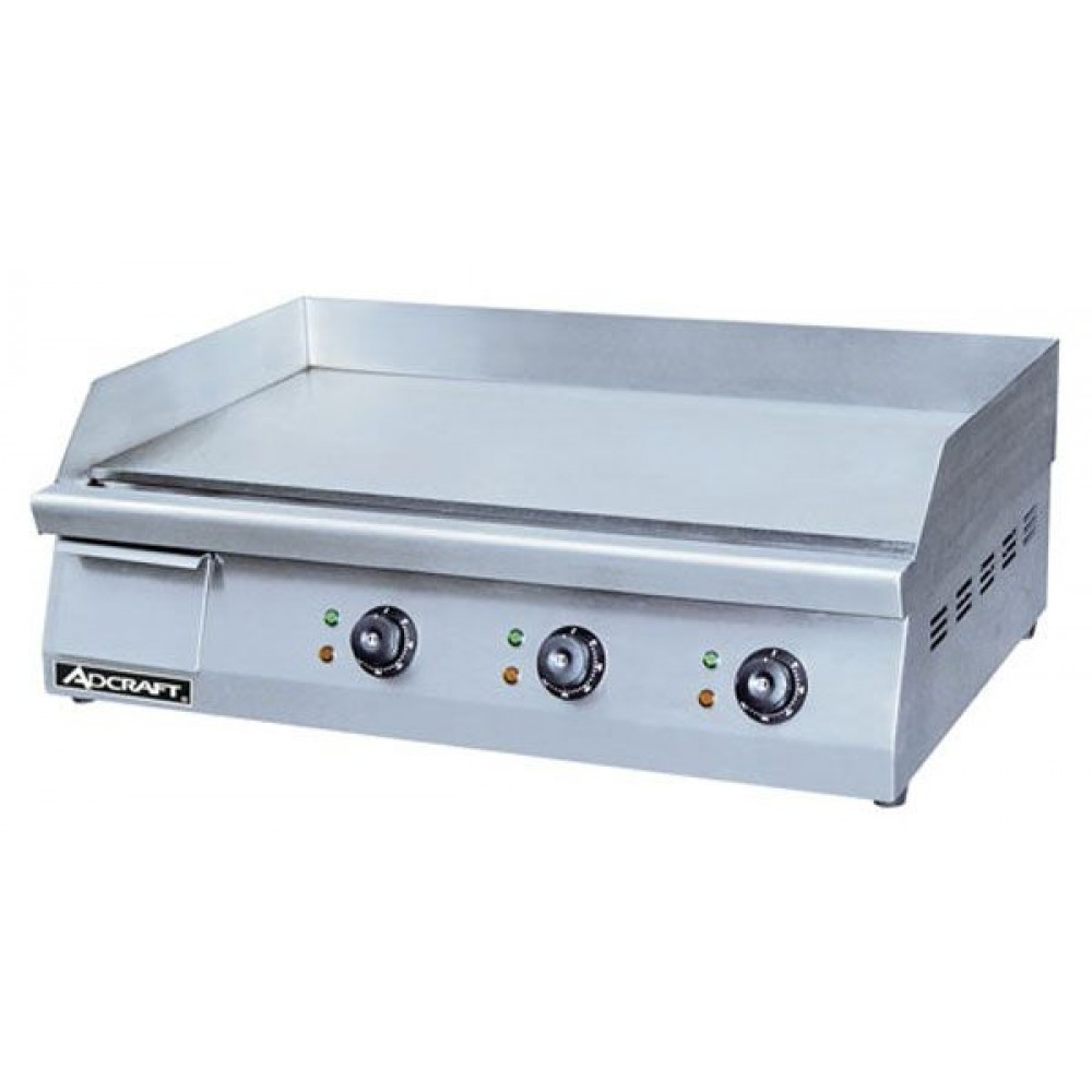 "Adcraft GRID-30 Stainless Steel Electric 30"" Griddle"