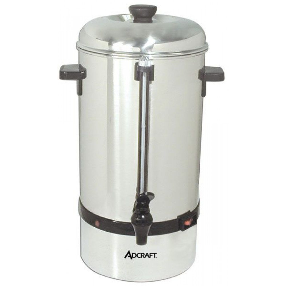 Adcraft CP-60 60 Cup Stainless Steel Coffee Percolator