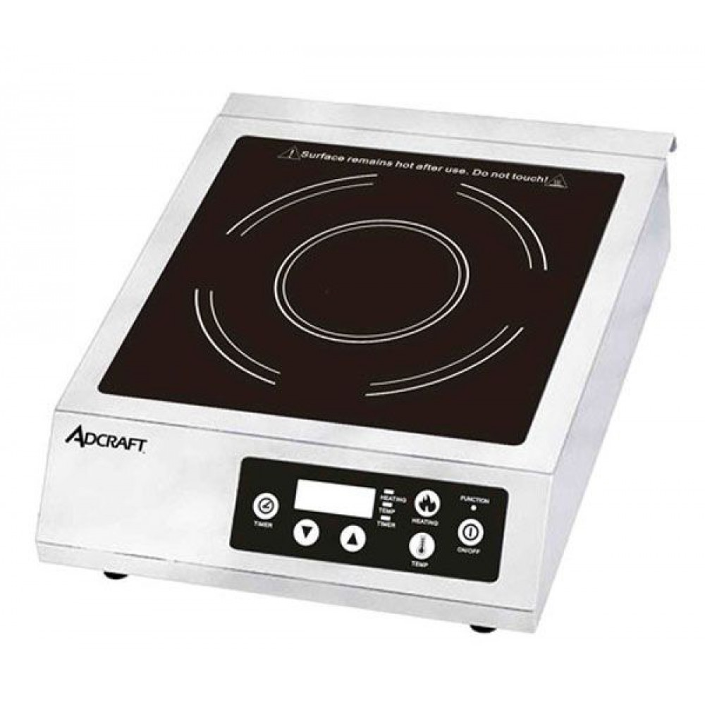 Adcraft IND-B120V Full Size Induction Cooker with Digital Controls