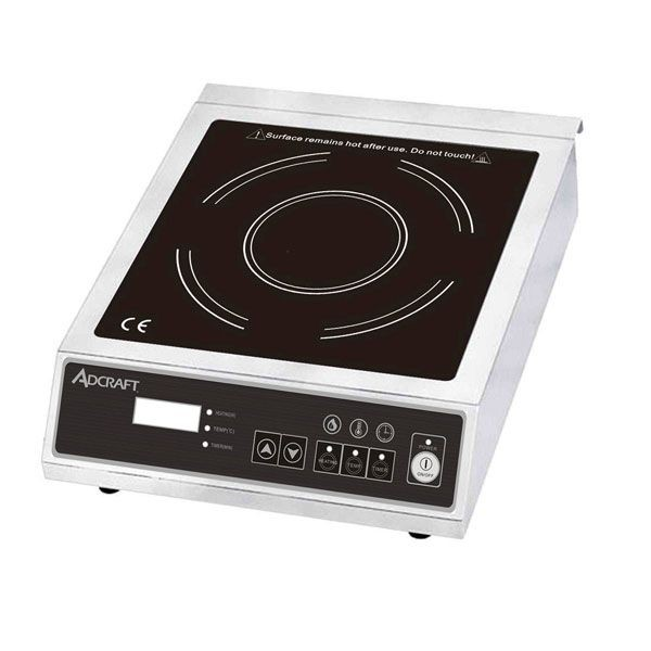 Adcraft IND-E120V Full Size Economy Induction Cooker with Digital Controls