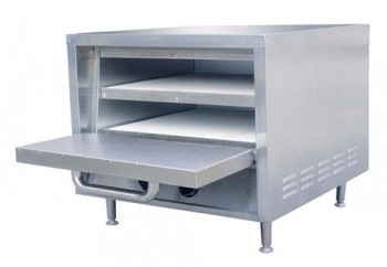 "Adcraft PO-22 20"" Countertop Stackable Pizza Oven"
