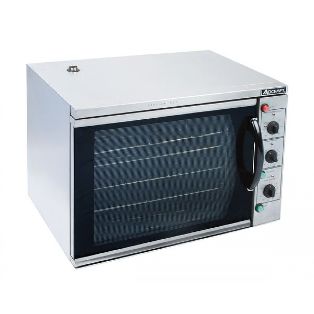 Adcraft COH-3100WPRO Convection Oven With Half Size Broiler