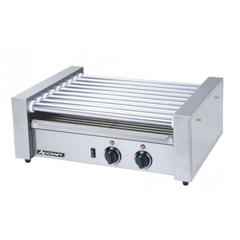 Adcraft RG-09 24 Hot Dog Roller Grill