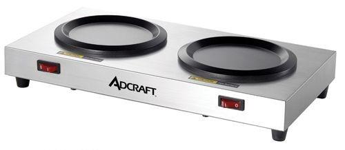 Adcraft WP-2 Side-by-Side Coffee Warmer Plate