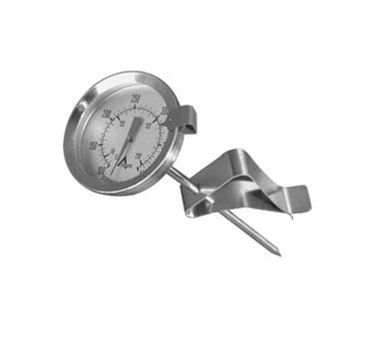 """Franklin Machine Products  138-1066 Adjustable Candy/Fryer 2"""" Dial Thermometer 100° F To 400° F"""