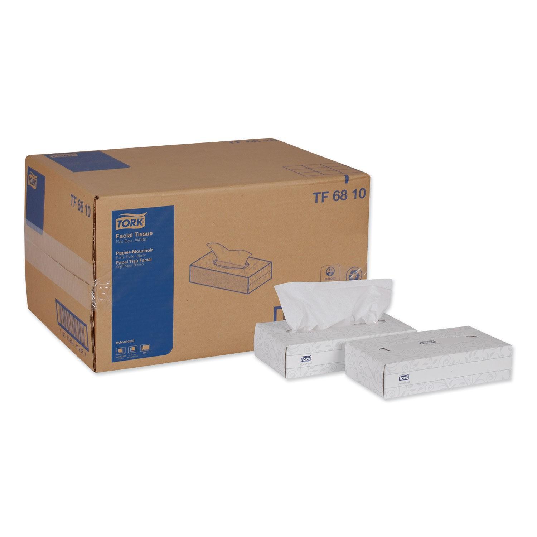 Advanced 2-Ply White Facial Tissue, 30 Boxes/Carton