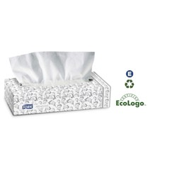 Advanced Facial Tissue, Flat Box, 2-Ply, White, 8.2 x 7.9, 100 Sheets/Box