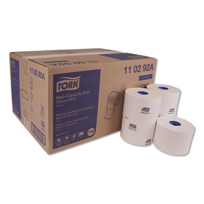 Advanced High Capacity Bath Tissue, Septic Safe, 2-Ply, White, 1,000 Sheets/Roll, 36/Carton