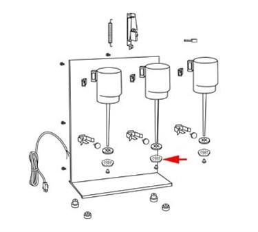 Franklin Machine Products  222-1259 Agitator, Disc (M#32Dm16, 31Dm77)