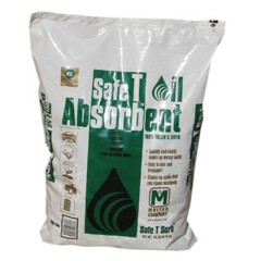 All-Purpose Clay Absorbent, 40 lbs., Poly-Bag