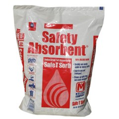 All-Purpose Clay Absorbent, 50 lbs., Poly-Bag