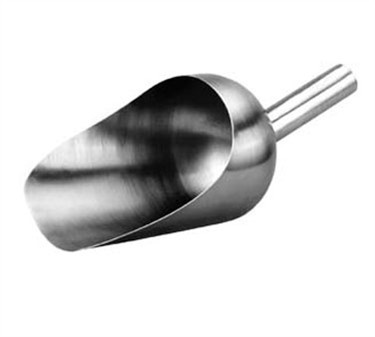 Franklin Machine Products  133-1164 All-Stainless Steel 64 oz. Utility Scoop