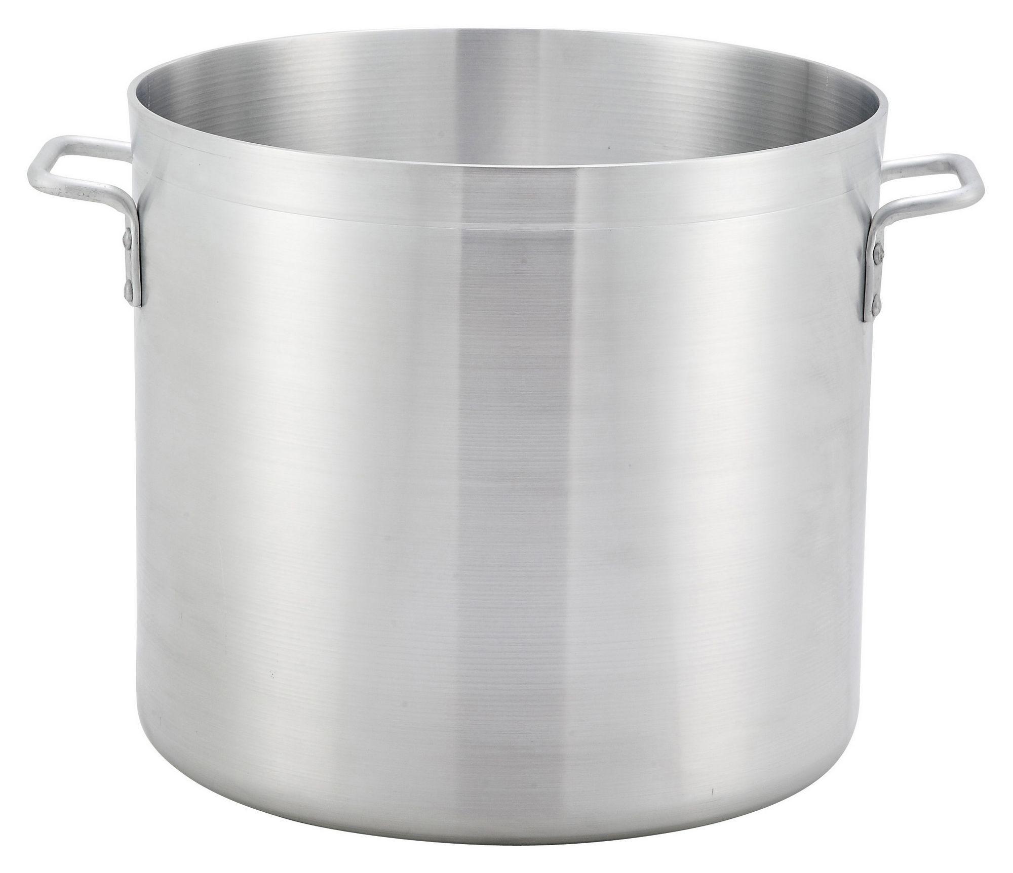Winco ALST-100 Super Aluminum 100 Qt. Stock Pot