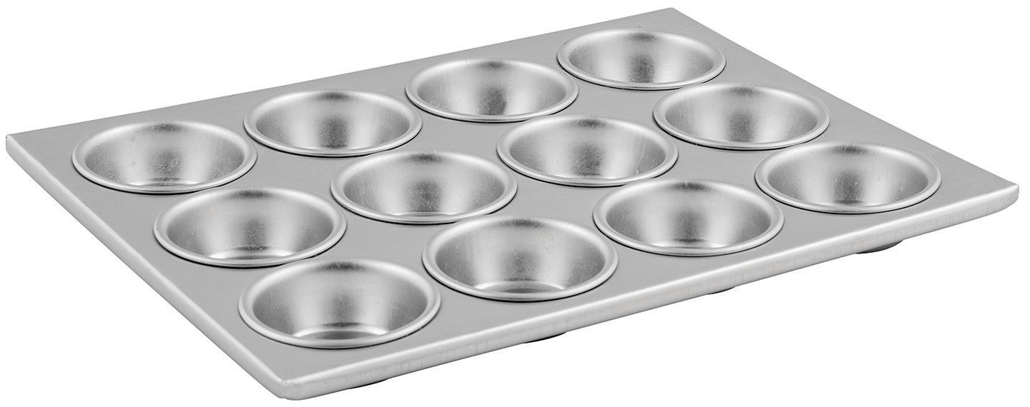 Aluminum 12-Compartment Muffin Pan - 14 X 11