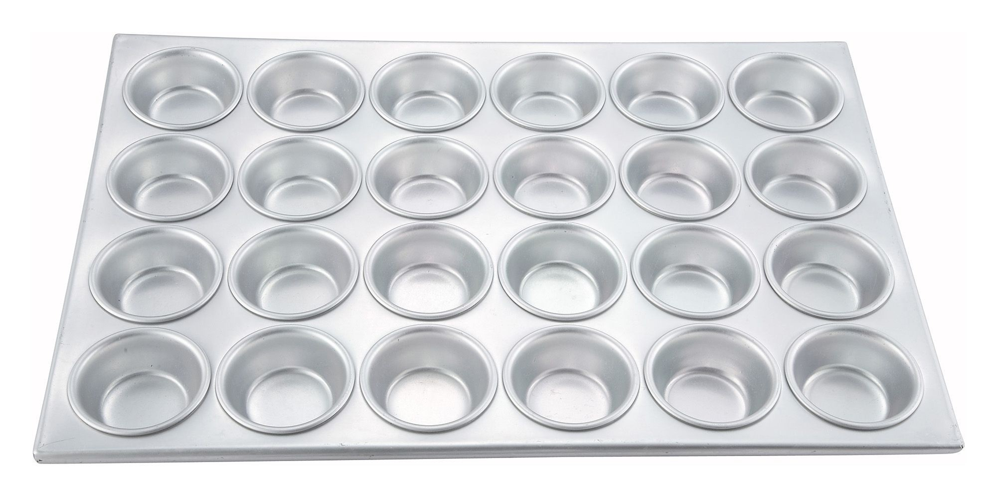 Aluminum 24-Compartment Muffin Pan, 20-1/2