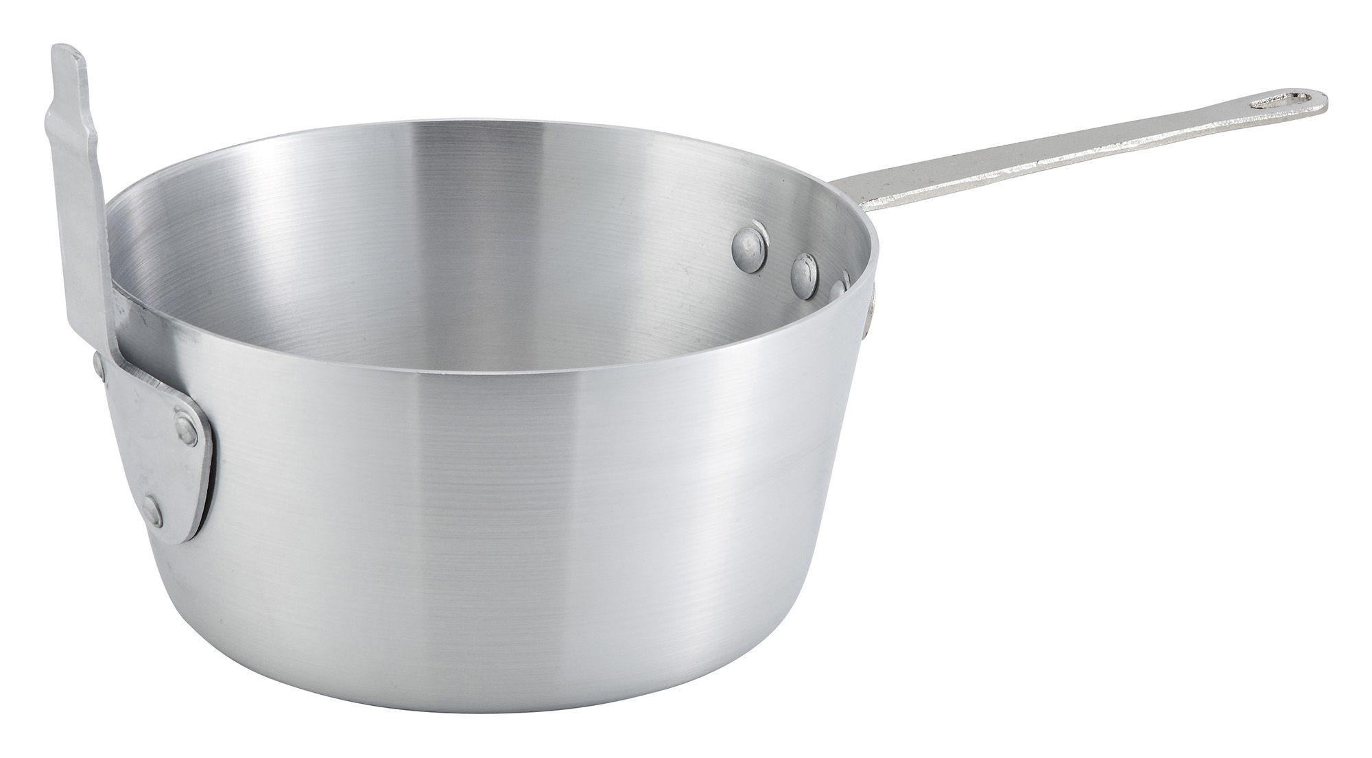 Aluminum 5.5-Qt Sauce Pan/Fryer/Pasta Cooker (basket not included)
