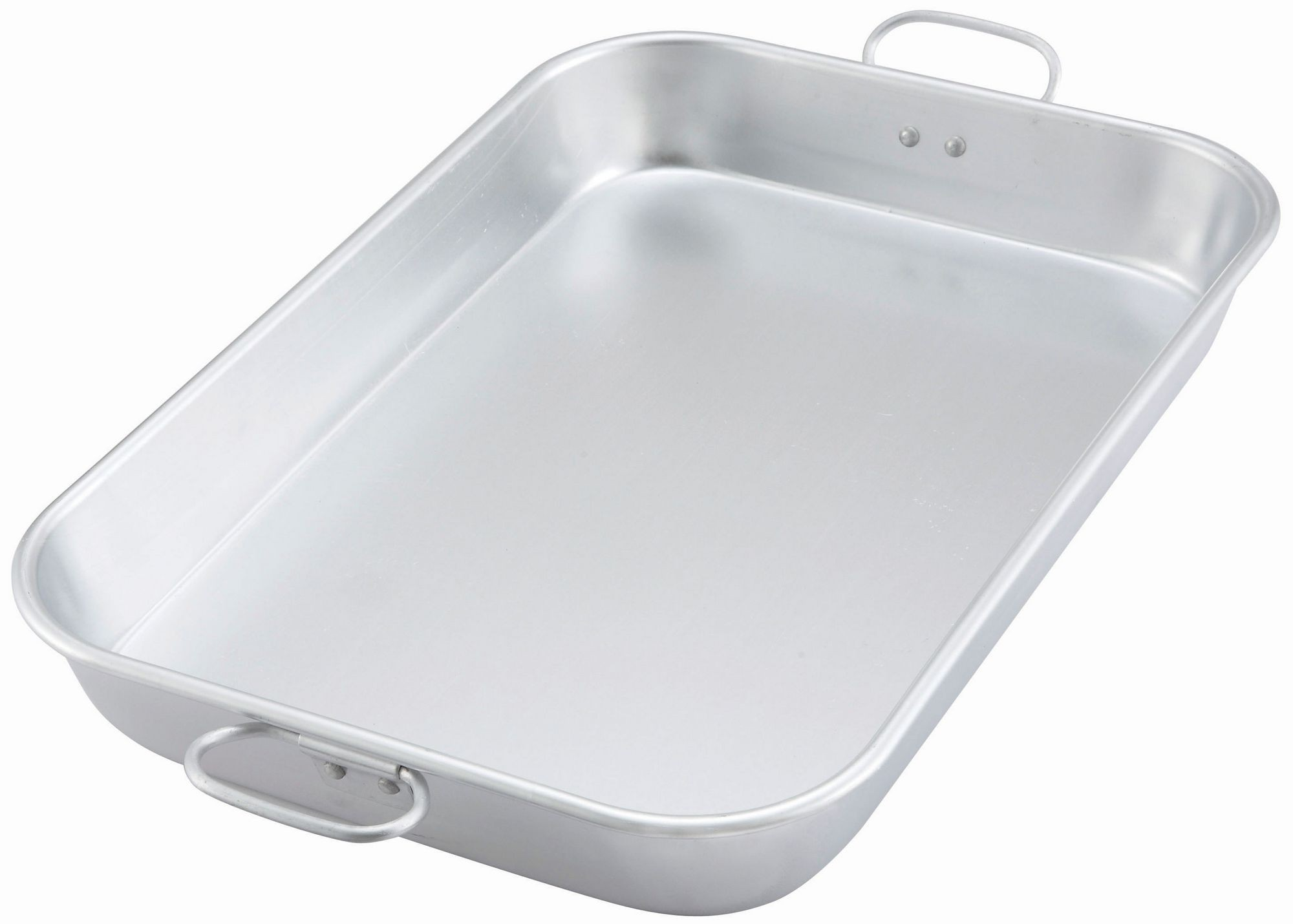 Aluminum Bake / Roasting Pan with Drop Handle, 17-3/4