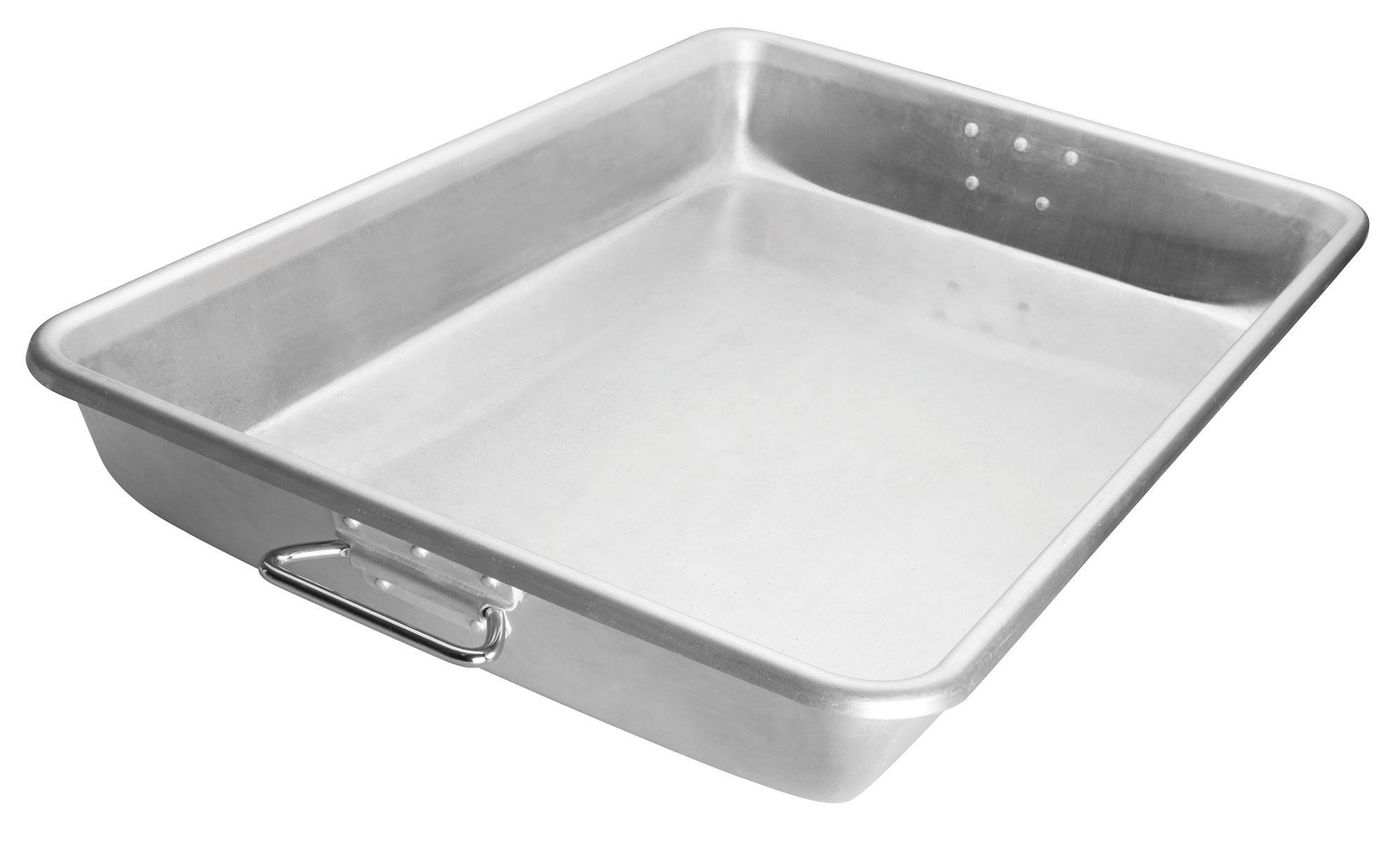 "Winco ALRP-1826H Aluminum Bake/Roast Pan with Handles 25-3/4"" x 17-3/4"""
