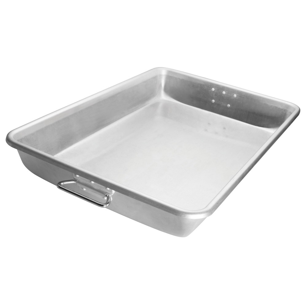 Aluminum Bake/Roast Pan (12 gauge) With Handles - 25-3/4 X 17-3/4