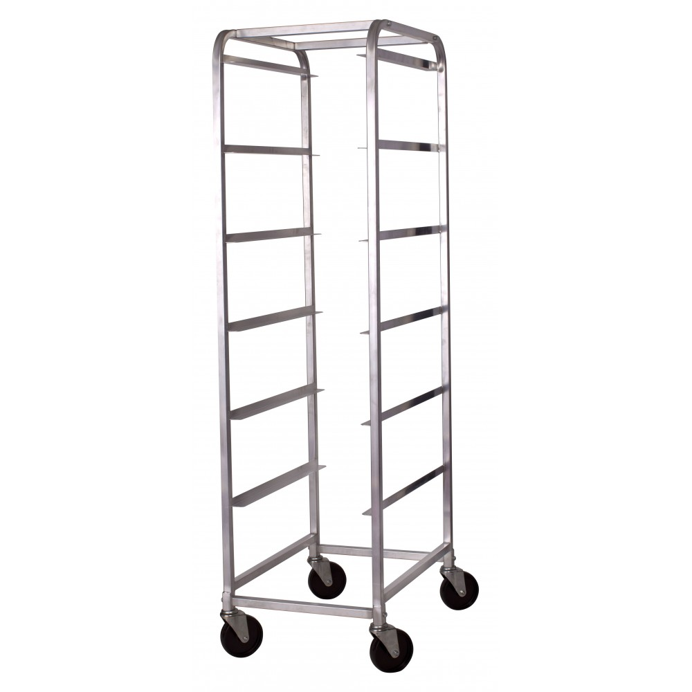 Aluminum Bus Box Cart, 6 Tiers