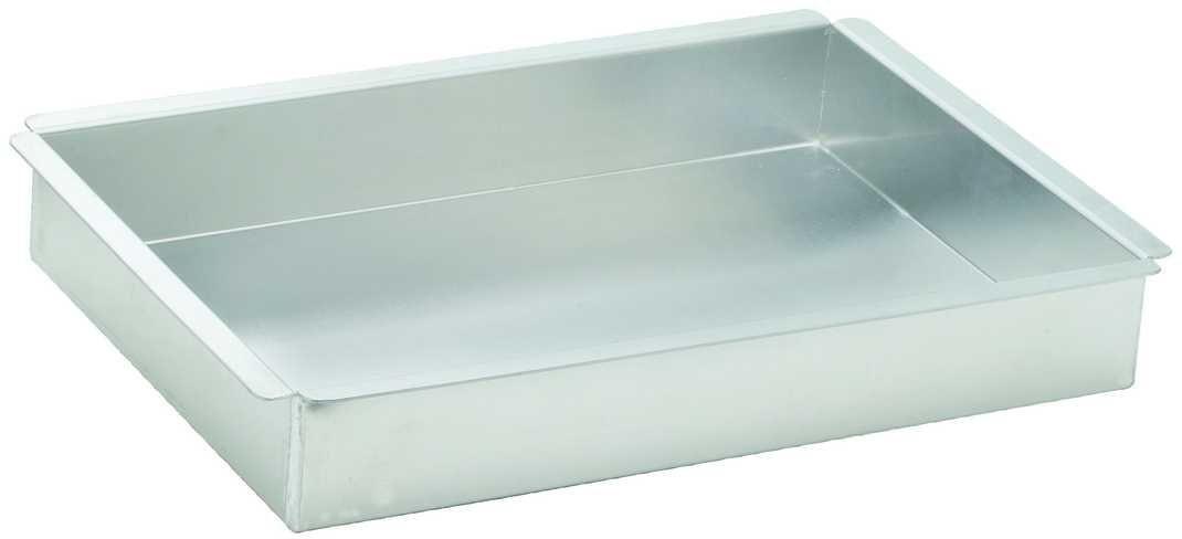 Aluminum Cake Pan, Rectangular 9