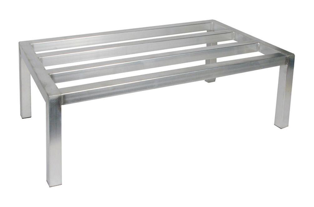 """Winco ADRK-2048 Aluminum Dunnage Rack 20"""" x 48"""" x 12"""""""