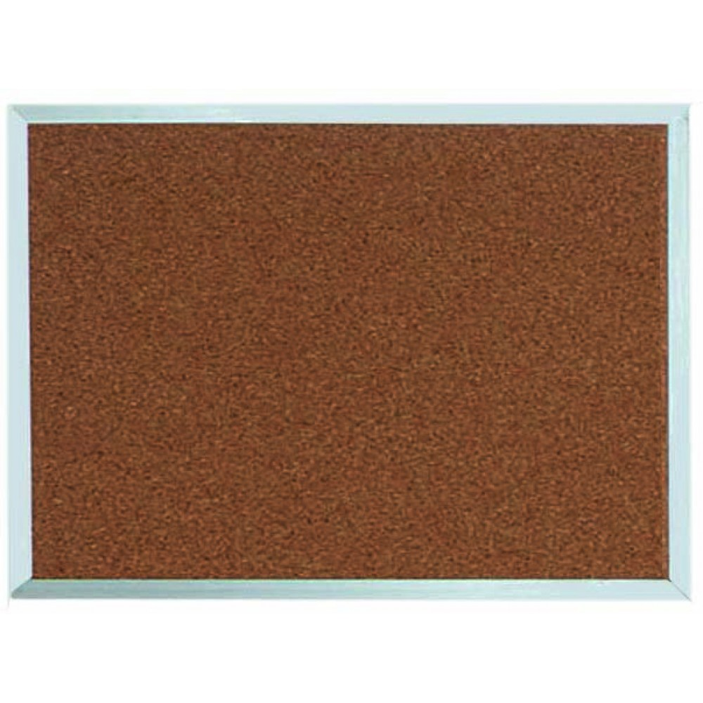 "Aarco Products DB1824 Aluminum Frame Bulletin Board, 18""H x 24""W"