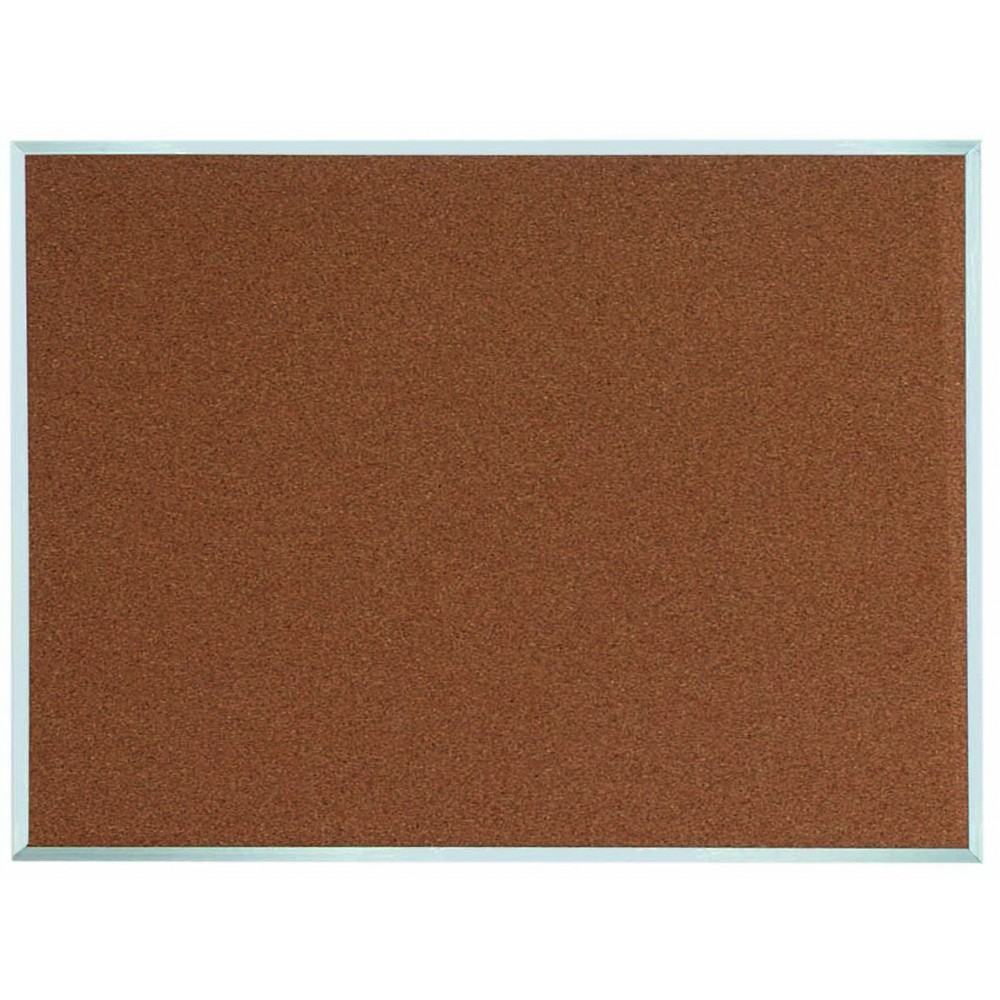 "Aarco Products DB3648 Aluminum Frame Bulletin Board, 36""H x 48""W"