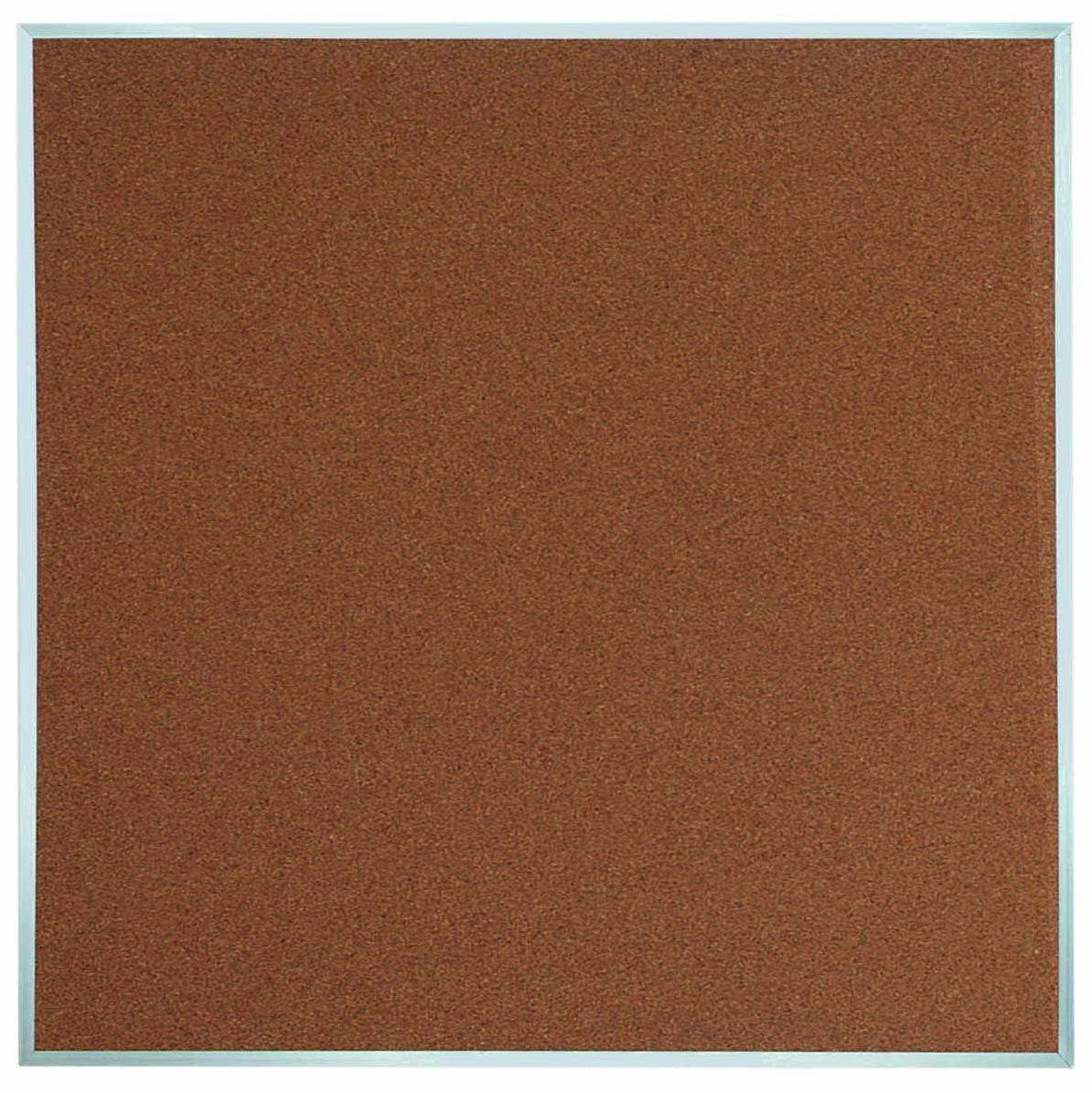 "Aarco Products DB4848 Aluminum Frame Bulletin Board, 48""H x 48""W"