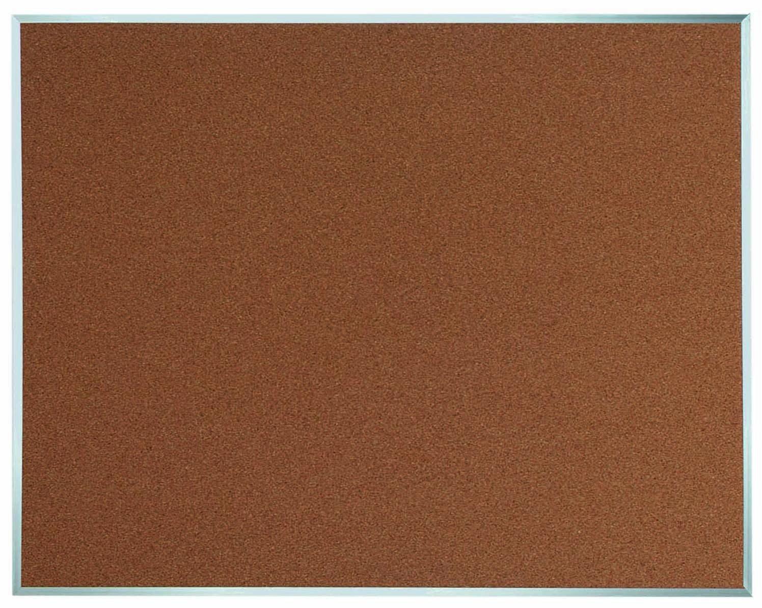 Aluminum Frame Bulletin Board - 48