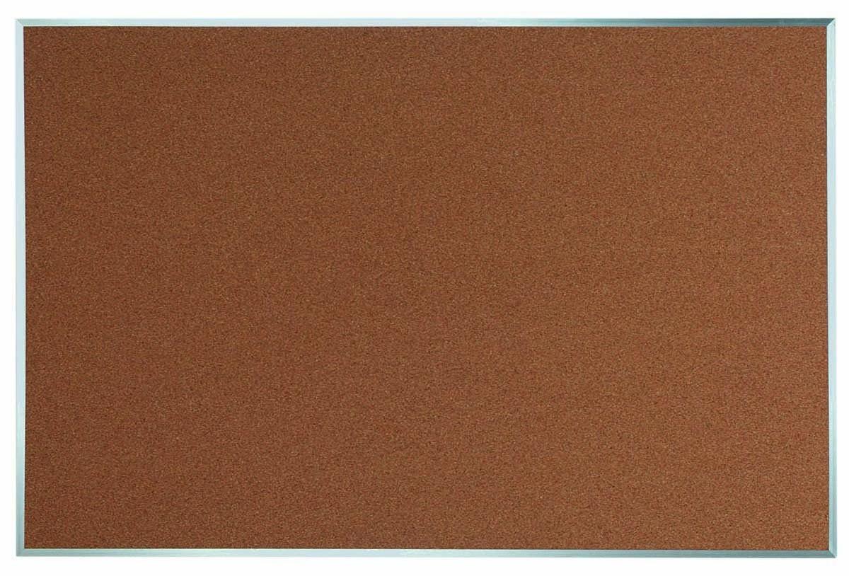 "Aarco Products DB4872 Aluminum Frame Bulletin Board, 72""W x 48""H"