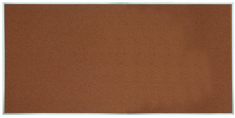 "Aarco Products DB4896 Aluminum Frame Bulletin Board, 48""H x 96""W"