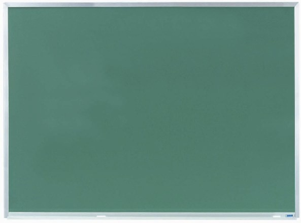 """Aarco Products DC3648 Aluminum Frame Composition Chalkboard, 36""""H x 48""""W"""