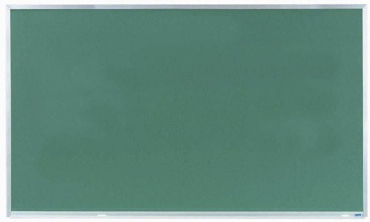 "Aarco Products DC3660 Aluminum Frame Composition Chalkboard, 60""W x 36""H"