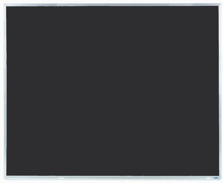 "Aarco Products DC4860 Aluminum Frame Composition Chalkboard, 48""H x 60""W"