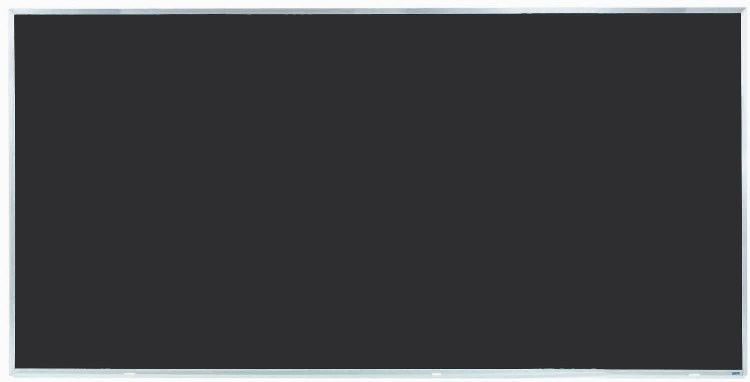 """Aarco Products DC4896 Aluminum Frame Composition Chalkboard, 48""""H x 96""""W"""