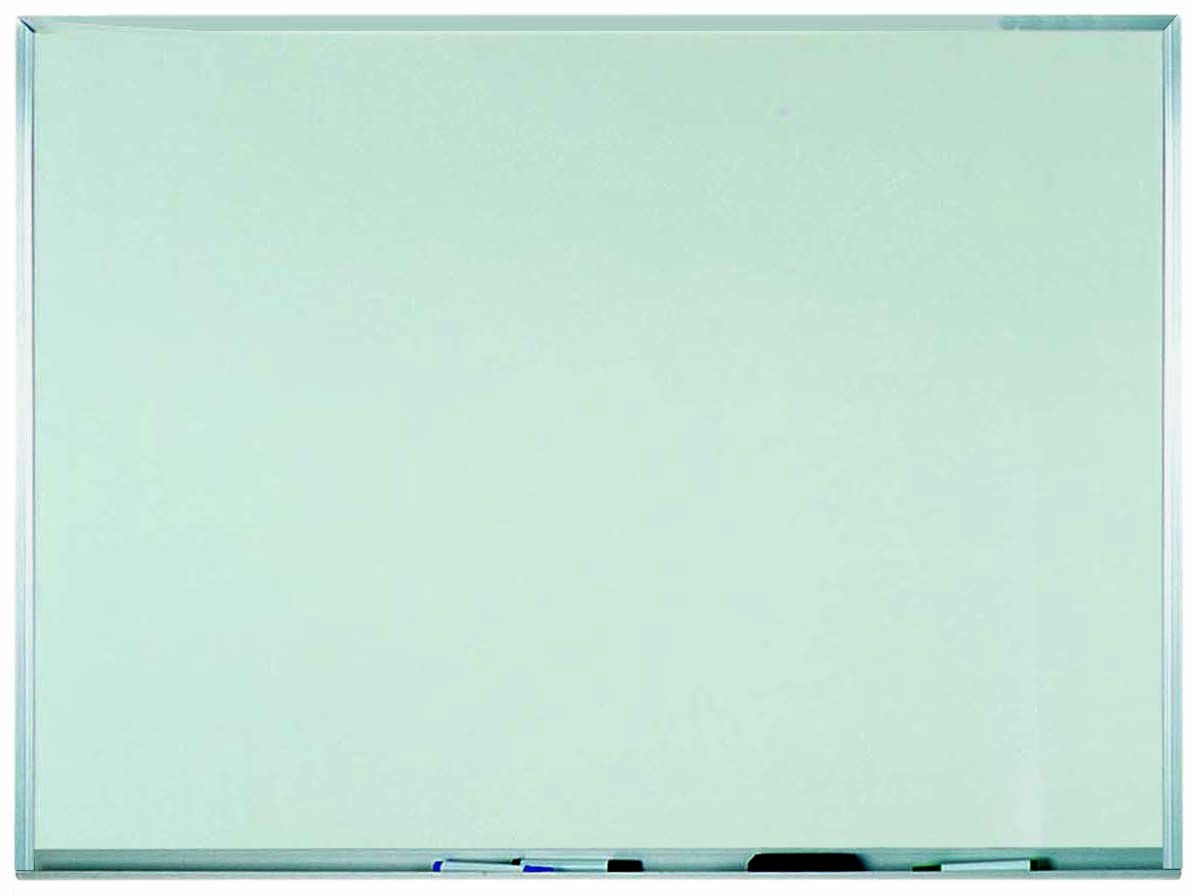 """Aarco Products WAC3648 Aluminum Frame Melamine Markerboard, 36""""H x 48""""W"""