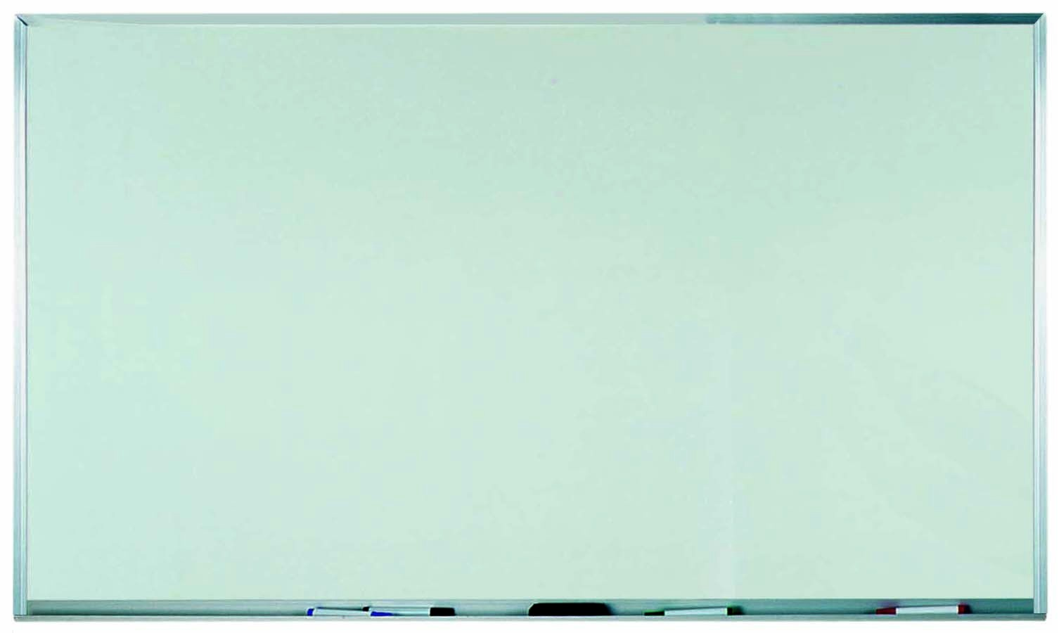 "Aarco Products WAC3660 Aluminum Frame Melamine Marker board, 60""W x 36""H"