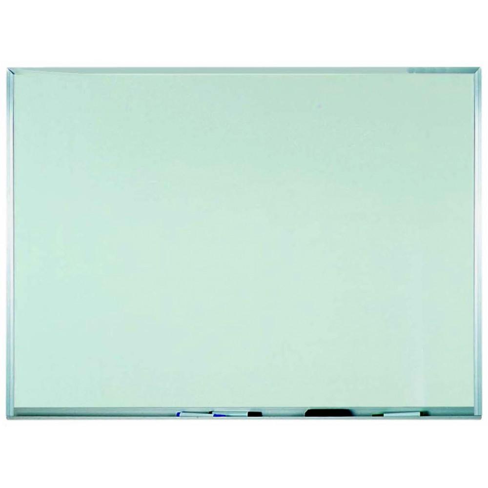 Aluminum Frame Melamine Markerboard - 36