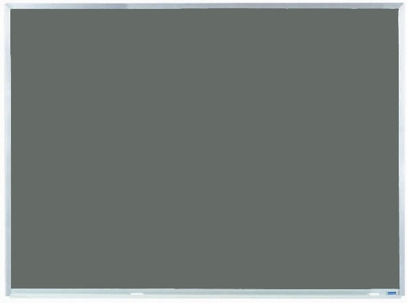 "Aarco Products DS3648 Aluminum Frame Porcelain Chalkboard (Choice of Colors), 36""H x 48""W"