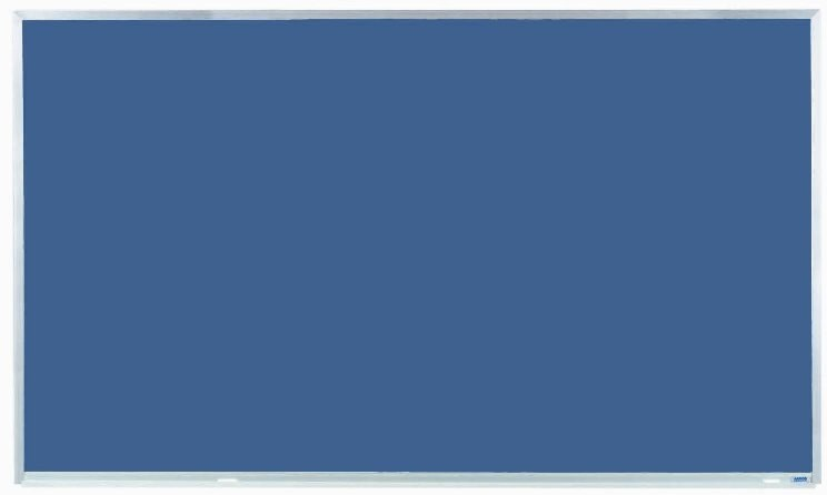 """Aarco Products DS3660 Aluminum Frame Porcelain Chalkboard (Choice of Colors), 36""""H x 60""""W"""