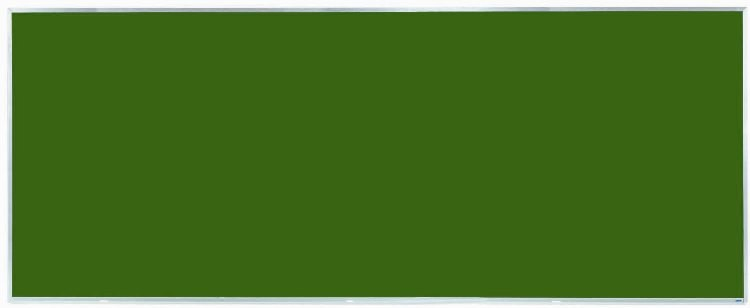 "Aarco Products DS48120 Aluminum Frame Porcelain Chalkboard (Choice of Colors), 48""H x 120""W"